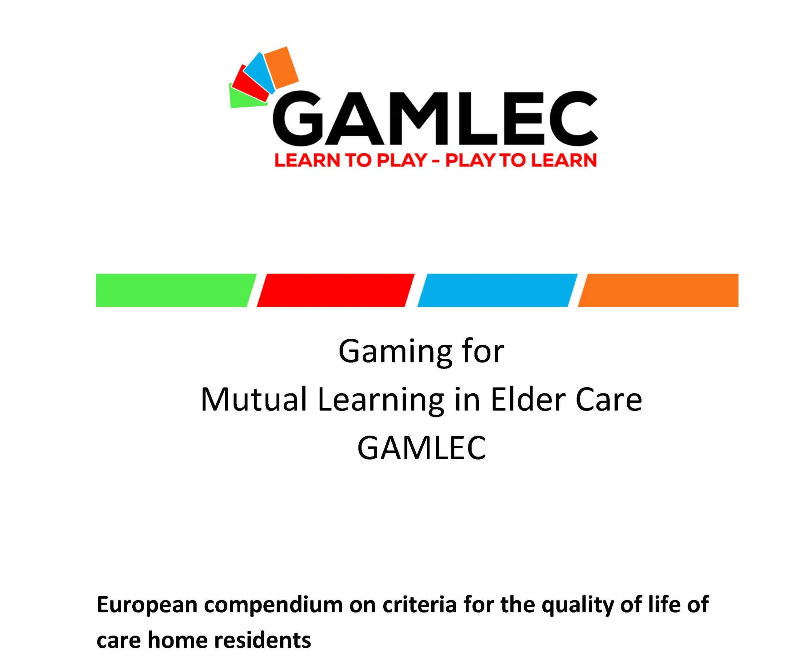Now available: The European Compendium on Criteria for the Quality of Life of Care Home Residents (EN)