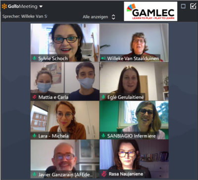 GAMLEC Consortium online Meeting on 5th November 2020
