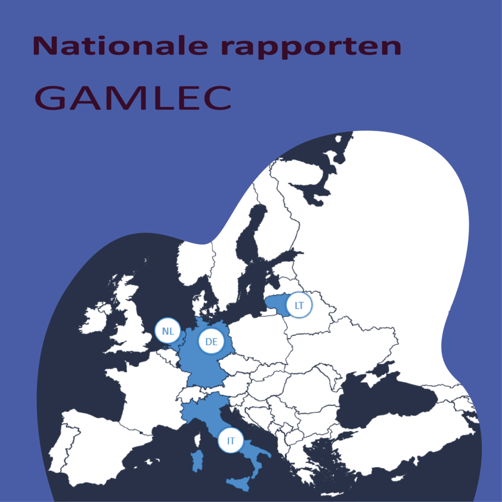 GAMLEC Nationale rapporten