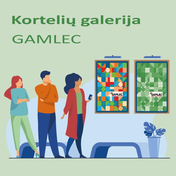 GAMLEC Kortelių galerija