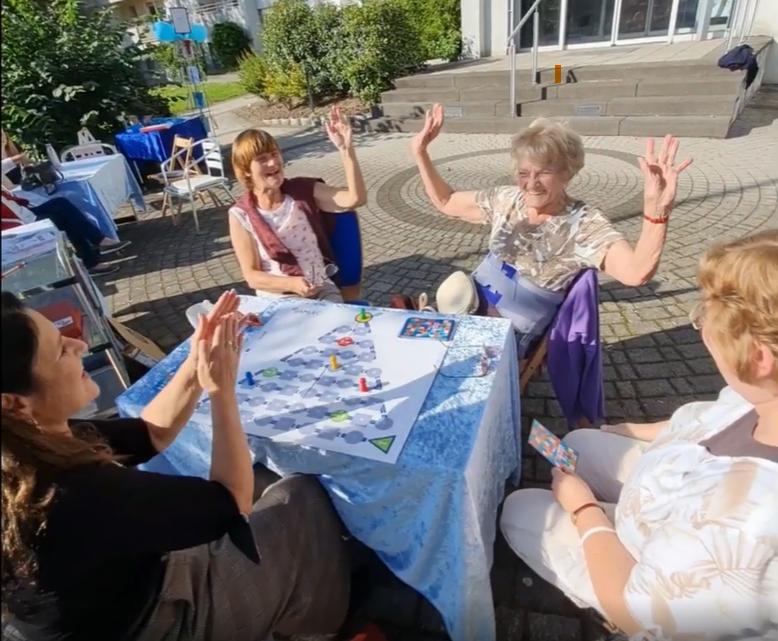 Eindrücke von der Spielerfahrung in der Freiwilligenagentur Hanau